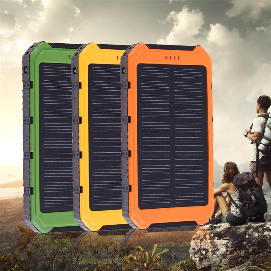 Hot High capacity Solar Power bank Mobile Phone Power Bank 18000mah Cell Portable Charger <font><b>Battery</b></font> External <font><b>Cellphone</b></font> Powerbank
