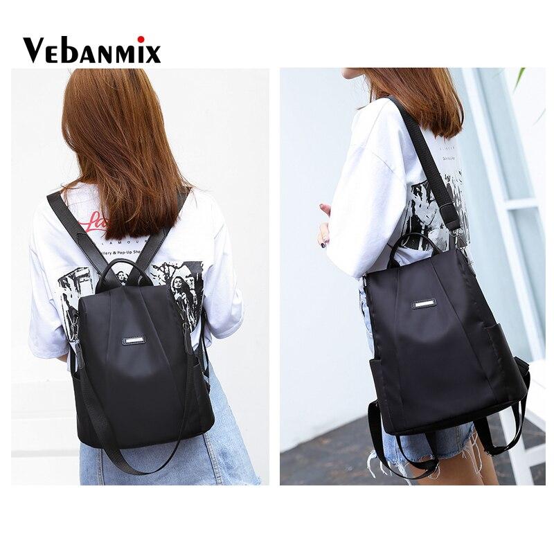 Marca do Vintage Daypacks Casuais Adolescente Bolsa Escola