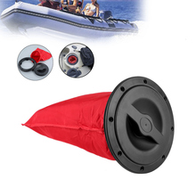 6inch Waterproof Kayak Boat Canoe Deck Plate Cover with Red Storage Bag for Marine Boating Water Sport