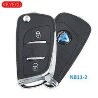 Keyecu 5PCS KEYDIY Universal KD Remotes 2B NB Series for KD900 KD900+ URG200+ KD X2 NB11 2