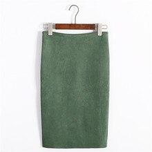 Women's Winter Midi Skirt