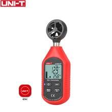UNI-T UT363BT-Mini Anemómetro Digital Bluetooth, probador de velocidad de viento Digital portátil, medidor de viento actualizado de UT363