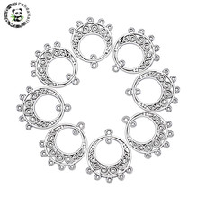 US $10.38 30% OFF|pandahall 200pcs Dangle Earrings Connector Chandelier Component Link Charm for Jewelry Making DIY Necklace Antique Silver-in Jewelry Findings & Components from Jewelry & Accessories on AliExpress
