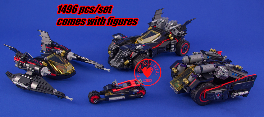 Ultimate Batmobile DC Super Heroes Batman Movie Building Blocks Bricks Toys Children 70917 compatiable legoes gift kid set lepin 07060 super series heroes movie the batman armored chariot set diy model batmobile building blocks bricks children toys