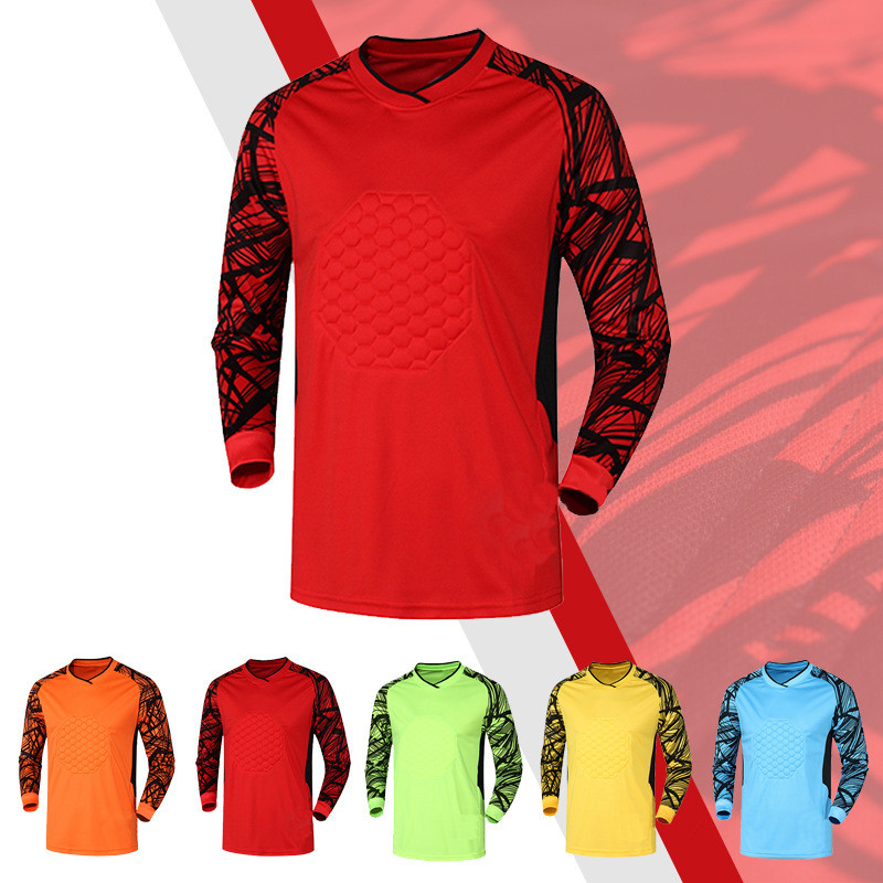 Mens Football Goalkeeper Jerseys Protector Survetement football 2016 2017 Jerseys Soccer GoalKeeper tracksuit Training Uniforms