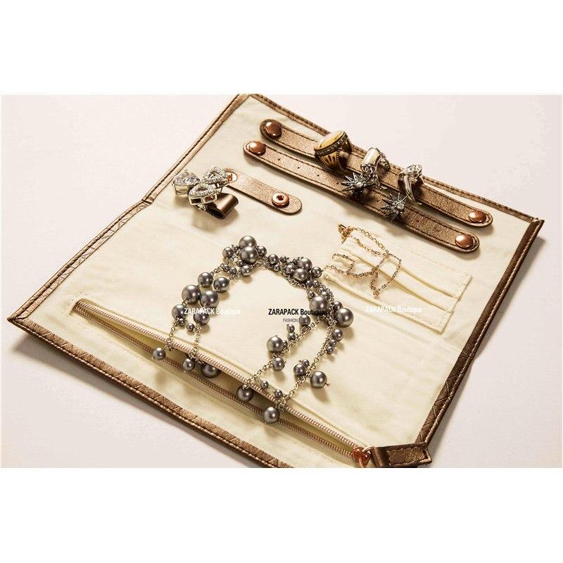 Online Shop Designer Luxury leatherette Jewelry Roll Holder