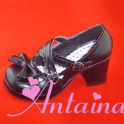 Prinses zoete lolita shoesLoliloliyoyo Antaina boog lolita prinses koningin van schoenen an9235 een custom voor 3-5days PU schoenen