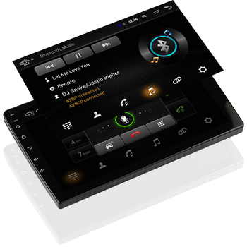 Doble Din Auto Estéreo Con Navegación | EKIY 10,1 Pulgadas IPS Android Reproductor Multimedia No Universal 2 Din Auto Radio Estéreo Para Toyota Nissan Navegación GPS WIFI