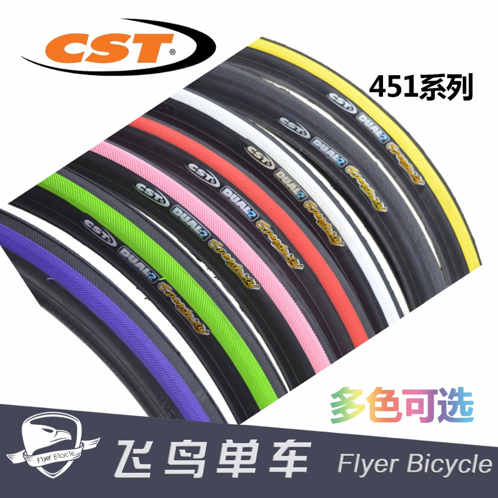 Taiwan CST 20*1-1/8 451 <font><b>tires</b></font> small wheel <font><b>tires</b></font> mango folding <font><b>bike</b></font> <font><b>22</b></font> inch <font><b>tires</b></font> image