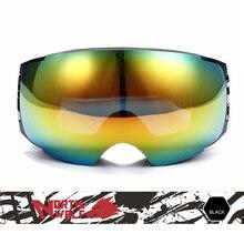 Männer Frauen Winter Große Skibrille Doppel Outdoor Sport Anti-fog Brillen Snowboard Radfahren Skifahren Wandern UV400 Gläser VK018