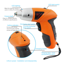 Cordless Electric Screwdriver Rechargeable USB Charger Mini Drill Multi-function Handheld Household DIY Screw Driver Power Tools electric cordless screwdriver drill rechargeable 2 battery lithium multi function household screwdrivers power screw driver tool