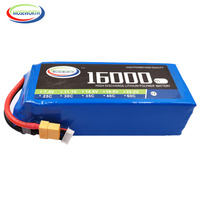RC LiPo Battery 6S 22.2V 16000mAh 25C For RC Helicopter Drone Quadcopter Airplane Car Boat Truck 22.2V Battery LiPo 6S RC AKKU