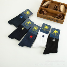 SANZETTI 12 pairs/lot Men's Combed Cotton Colorful Pattern Funny Skateboard Socks
