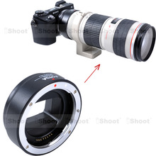 Electronic Adapter Ring Auto-focus for Canon EF EF-S Lens Sony NEX E Mount Camera NEX-VG10E NEX-VG20E NEX-VG30E a6000 a6300