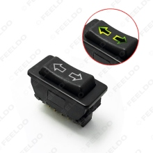 MOTOBOTS 1Pc Universal Double Arrow 5pins Car Power Window Switch 12V/24V 20A With illumination indicator  #FD-4494
