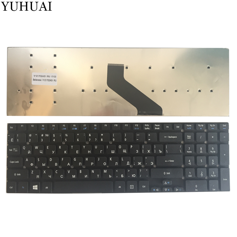 NEW Russian Keyboard For Acer Aspire E1-522 E1-522G E1-510 E1-530 E1-530G  E1-572 E1-572G E1-731 E1-731G E1-771 E1-532 Laptop RU