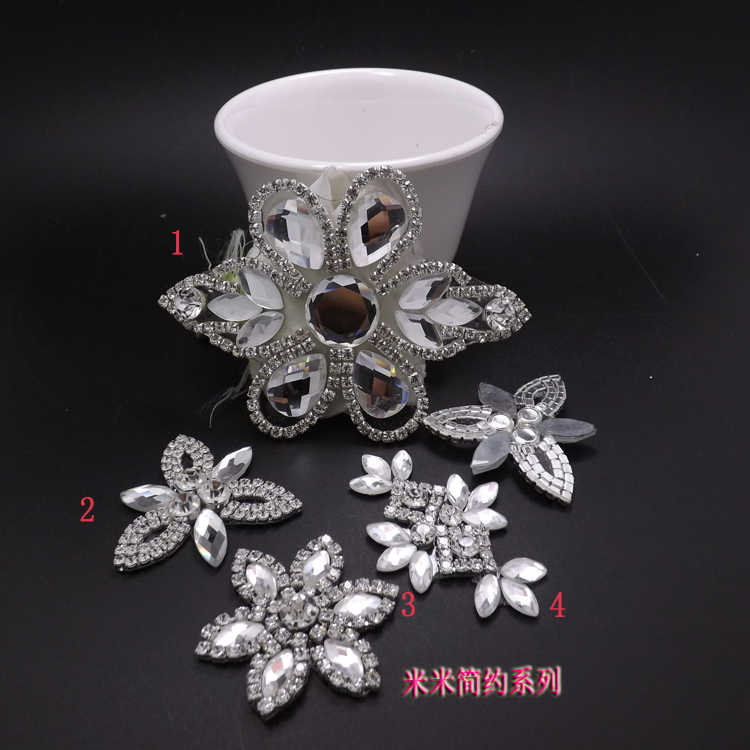 Detail Feedback Questions about Hot Fix Flower Shape Crystal ... 560ed2e661e2
