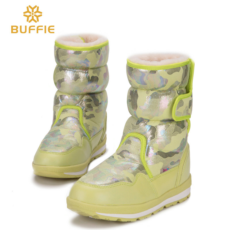 Winter boots feminine snow boots ladies heat fashion 2018-2019 season new coming design model sneakers prime quality evaluate free shippin Mid-Calf Boots, Low-cost Mid-Calf Boots, Winter boots feminine snow...
