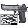 43pcs Set 3D Brick Black Weapon Air Gun Block Building Compatible Model Pistol Toys Boys With Instruction
