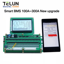 Free shipping Lithium battery solar charging 100A~300A 2.4V 3.2V 3.7V protection board balanced management system BMS Coulomb