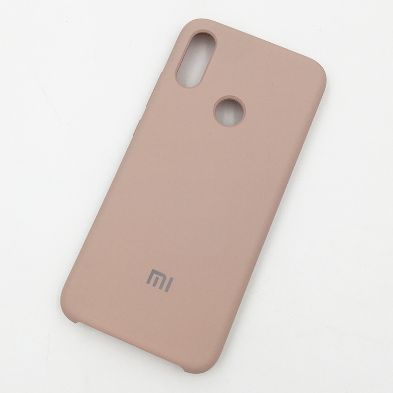 Image 2 - 100% Original Xiaomi Redmi Note 7 Pro Case Liquid Silicone Silky Soft Touch Coque Case Protective Back Cover For Red mi note 7-in Fitted Cases from Cellphones & Telecommunications