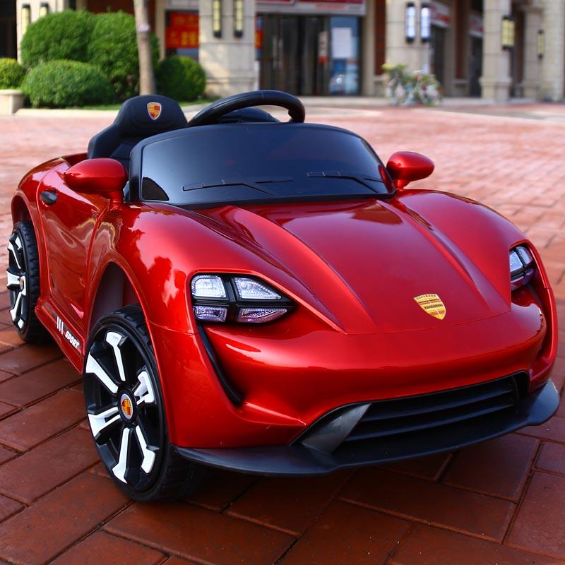 Prix spécial Enfants de quatre-roue électrique véhicule avec télécommande Enfants rechargeable bébé voiture enfants jouet voiture peut s'asseoir