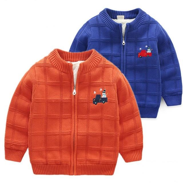 515002906 Baby Boy Knitting Cardigan Winter Toddler Boys Christmas Sweaters ...