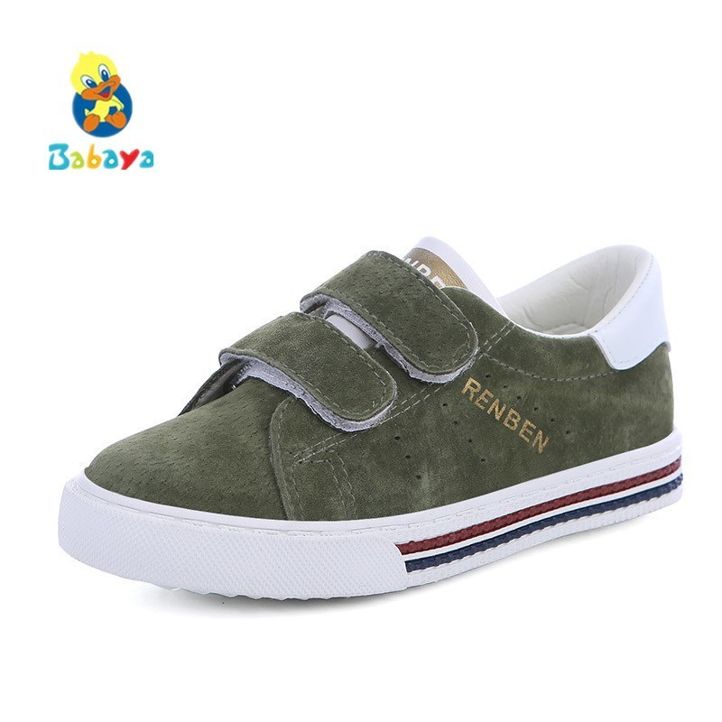 Kids Shoes Boys Pigskin Leather Child 2017 Spring Autumn New Boys Girls Shoes Children Casual Shoes Students Running ShoesKids Shoes Boys Pigskin Leather Child 2017 Spring Autumn New Boys Girls Shoes Children Casual Shoes Students Running Shoes