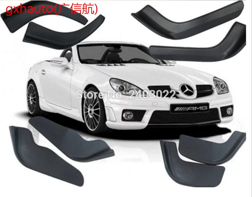 Bumper spoiler 2pcs PP material modified front shovel decorative scratch resistant for Mazda 3Bumper spoiler 2pcs PP material modified front shovel decorative scratch resistant for Mazda 3