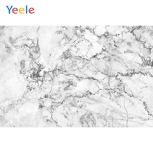Yeele Marble Texture Solid Backdrops White Gray Photography Background Customized Photographic Backdrop For Photo Studio