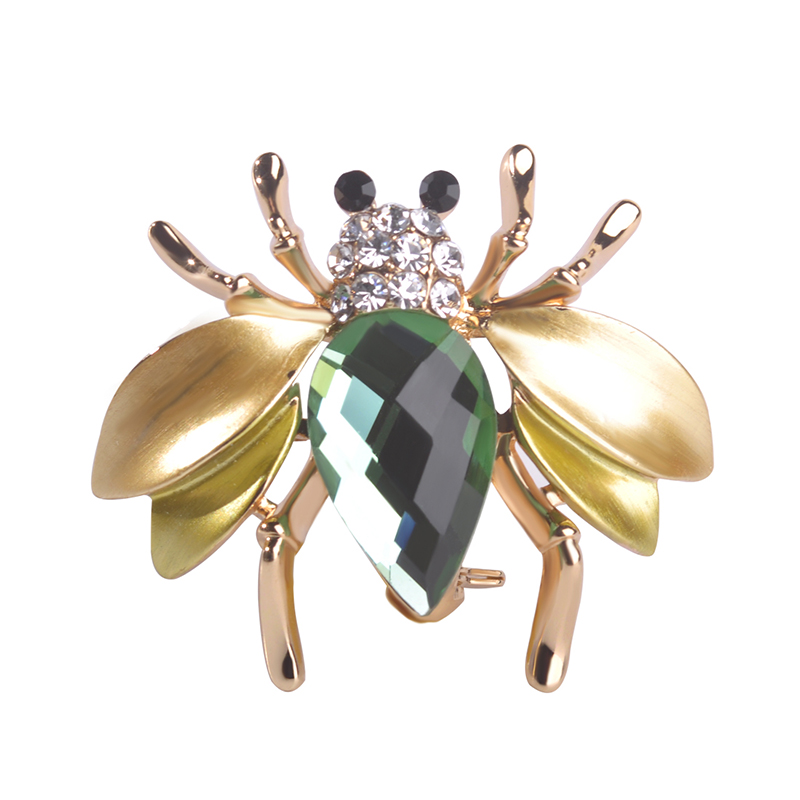 2016 New Animal bee Brooch Cute Insect Brooches For Women Big Fly Mosquitoes Shirt Gold Enfeites Para Festa Broche Relogios Kpop