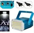Мини 36 светодиодный s SMD 5050 светодиодный стробоскоп светильник вращающийся светодиодный сценический светильник вечерние festa диско лампа ст...