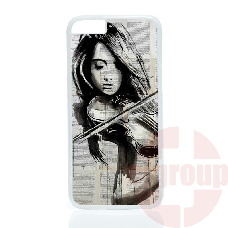 amazing music font b violin b font cute artistic For HTC One X S M7 M8