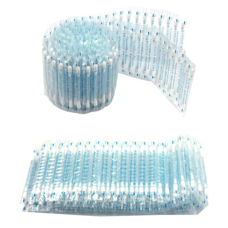 30Pcs/Set Disposable Medical Alcohol Stick Disinfected Cotton Swab Emergency Care Sanitary