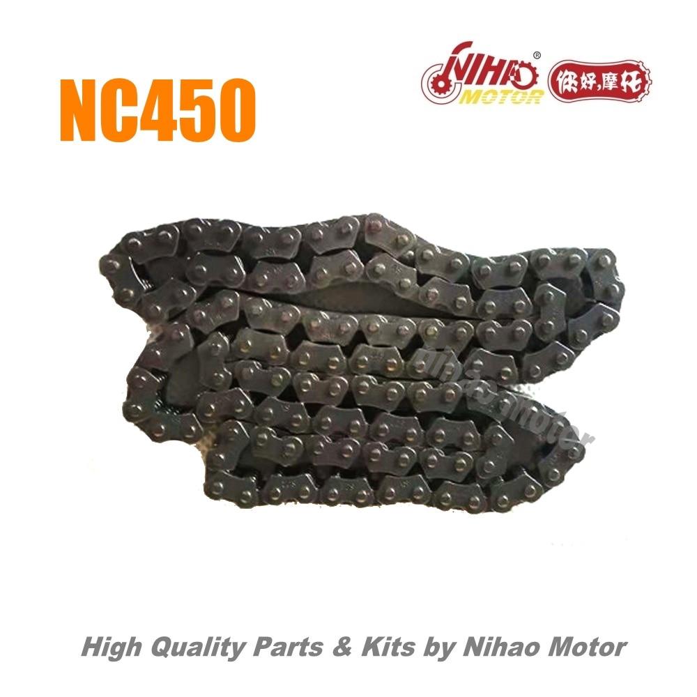 77 NC450 pièces chaîne de distribution (DID) moteur ZONGSHEN NC RX4 ZS194MQ (moteur Nihao) KAYO Motoland esb VENTO Asiawing Xmoto