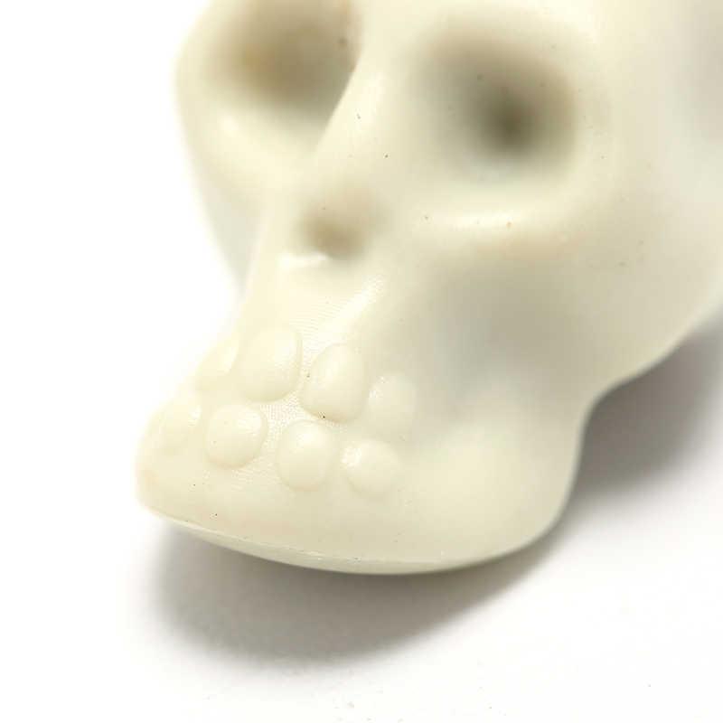 10 pcs 시뮬레이션 인간의 해골 미니 해골 플라스틱 복제 할로윈 홈 인테리어