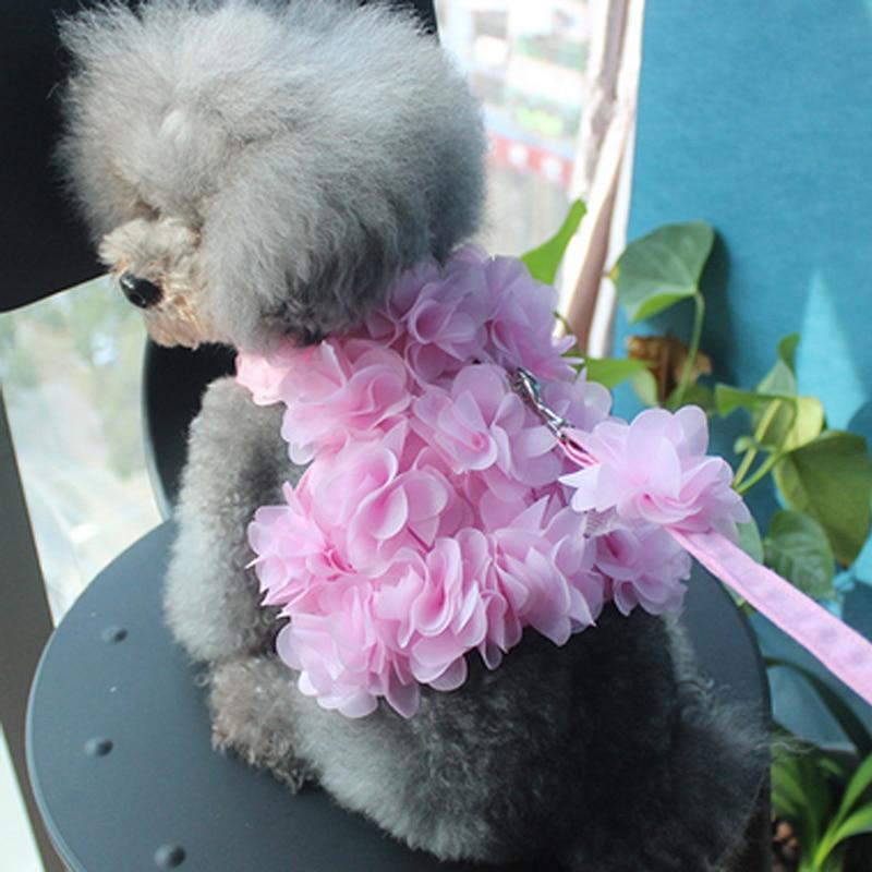 컴포트 소프트 통풍 아름다운 꽃 조정 가능한 개 - 애완 동물 제품