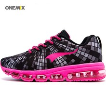 ONEMIX 2016 Free Lady Top high quality versatile gusto lively galaxy Training Running Shoes Sport Women's AIR cushion Sneaker 1185