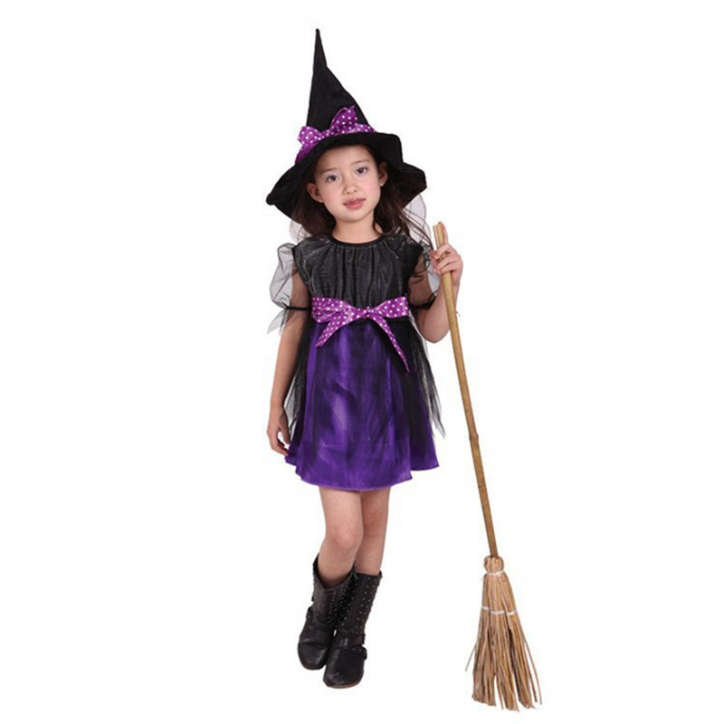 Stage Costume Party, Halloween, All Saints Party Take White Gauze Pretty Witch