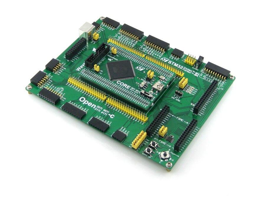 STM32 ARM Cortex-M4 Development Board STM32F407IGT6 STM32F407+ PL2303 USB UART Module Open407I-C Standard module xilinx xc3s500e spartan 3e fpga development evaluation board lcd1602 lcd12864 12 module open3s500e package b