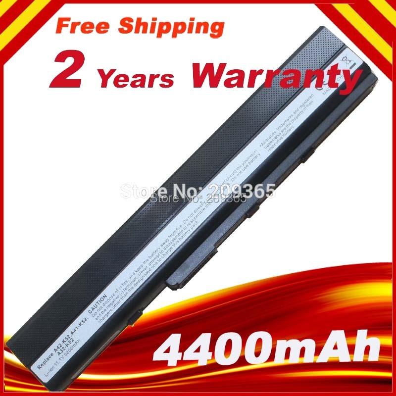 Battery Pack for Asus A42 K42 A52 K52 X52 A31-K52 A32-K52 K42F K42JB K42JK K42JR K42JV K52f цена и фото