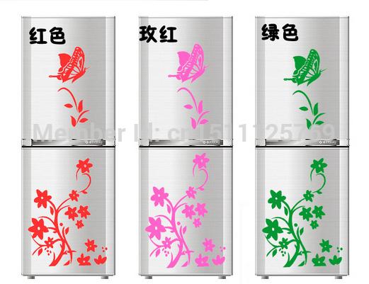 Butterfly Refrigerator Sticker