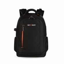 Multifunctional Camera Backpack DSLR Bag Organizer Rucksack for Laptops Tablet with Waterproof Rain Cover for Canon Nikon Camera