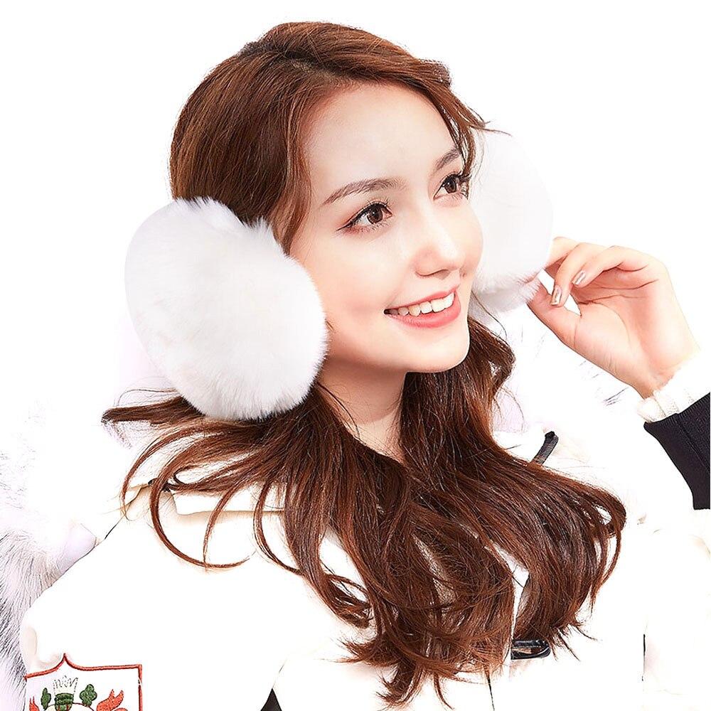 1Pcs Unisex Faux Rabbit Hair Multi Colors Earmuffs Ear Warmers Ear Muffs Earlap Keep Your Ears Warm