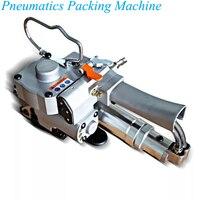Máquina de embalagem pneumática pneumática portátil dos pp da máquina de embalagem 13-19mm pet que cinta a ferramenta que amarra a máquina de embalagem a19