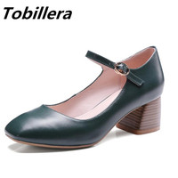 Tobillera 2017 Spring Summer Newest Medium Wood Heels Round Toe Pumps In Green Nude Black Fashion