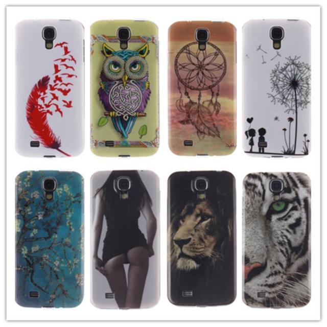 Case Phone Cover for GalaxyS4 GT-I9500 GT-I9505 GT-I9506 GT-I9515 GT-I9502 I9515 I9506 I9505 TPU Case for Samsung Galaxy S4 S 4