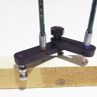 2 Size Drawing Line Tool Woodworking Adjustable Anywhere Position Scribe Carving Wood