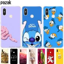 "Silicone case For Xiaomi mi 8 6.21 "" Cases soft TPU For"