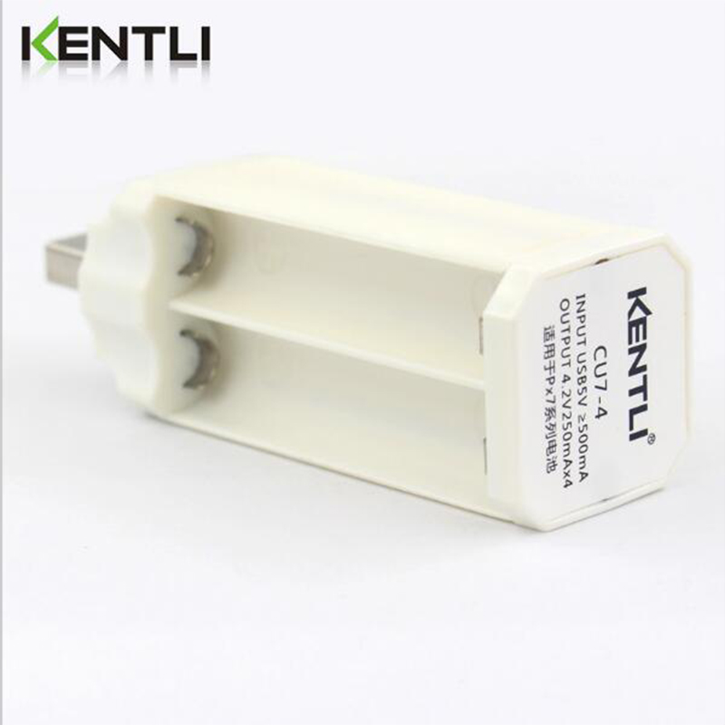 KENTLI 1.5v AAA rechargeble li-ion li-polymer lithium battery USB smart AAA 4slots charger